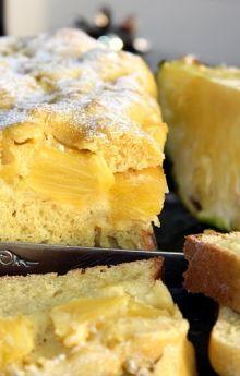 Szybkie ciasto z ananasem