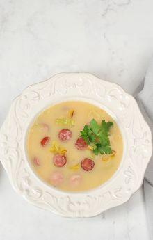 Zupa krem z kapusty kiszonej