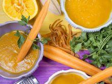 Zupa z marchwi i pomarańczy