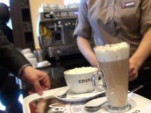 Otwarcie nowej kawiarni Costa