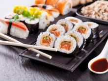 Jak przygotować sushi? - infografika