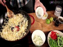 Kuchnia chińska - Smażony ryż z warzywami