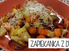 Zapiekanka z dyni i ziemniaków