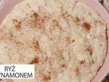 Ryż z cynamonem