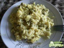 A la risotto z groszkiem