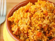 Aby ogrzać zimny ugotowany makaron i ryż