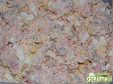 Aksamitna pasta z łososia