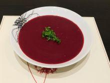 Aksamitna zupa - krem z buraków
