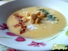 Aksamitna zupa krem z ogórków