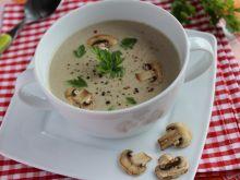 Aksamitna zupa pieczarkowa
