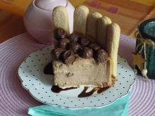Aksamitny sernik czekoladowy (na zimno)