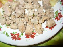Grillowane kawałki z polędwicy z tuńczyka