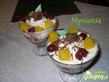 Alkoholowy deser z mascarpone