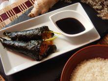 Amatorskie sushi temaki