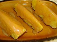 Ananas w sosie krówkowym