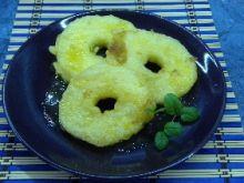 Ananas w tempurze