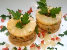 Ananasowe kotleciki z  kurczaka