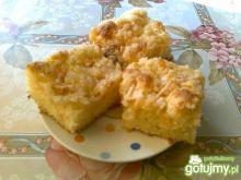 Ananasowo- jabłkowe ciasto na kefirze