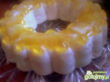 ananasowy torcik jogurtowy