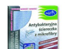 Antybakteryjna ściereczka z mikrofibry