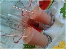 Arbuzowy koktajl z lodową nutą