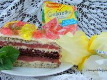 Arbuzowy tort na Dzień Dziecka