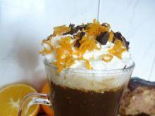 Aromatyczna kawa pomarańczowa