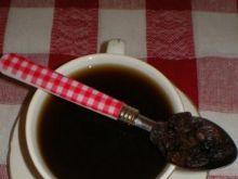 Aromatyczna kawa z rodzynkami