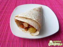 Aromatyczna tortilla z pomidorami