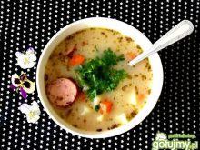 Aromatyczna zupa czosnkowa