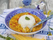 Aromatyczne curry z kurczaka z ryżem