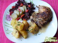 Aromatyczne ćwiartki z kurczaka