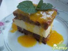 Aromatyczne dyniowe ciasto z pianką