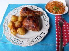 Aromatyczne mięso z kurczaka