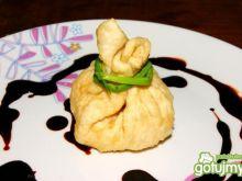 Aromatyczne sakiewki tofu