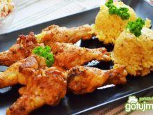 Aromatyczne skrzydełka w ryżu