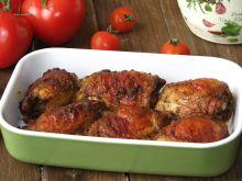 Aromatyczne udka z kurczaka