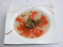 Aromatyczny rosołek z makaronem ryżowym