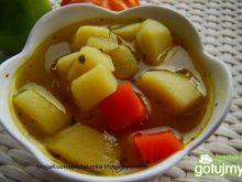 Aromatyczny rosołek z ziemniakami