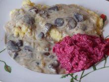 Aromatyczny sos grzybowo - cebulowy