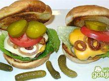 Autentyczny Bison Burger amerykański
