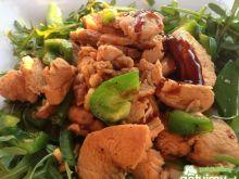 Azjatycki kurczak w sosie ostrygowym