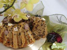 Baba kawowo-czekoladowa z kawowym lukrem