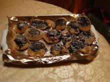 Babeczki biszkoptowe z lentilkami