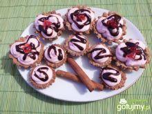 Babeczki cynamonowo-migdałowe z jogurtem