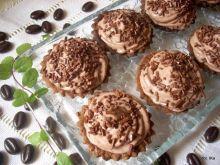 Babeczki czekoladowe z gruszkami
