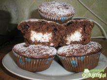 Babeczki czekoladowe z kokosem