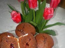 Babeczki czekoladowe z konfiturą