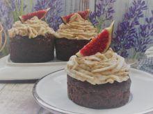 Babeczki czekoladowe z kremem