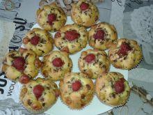 Babeczki czereśniowo - truskawkowe